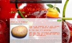 Weergave lay-out weblog Nutrition