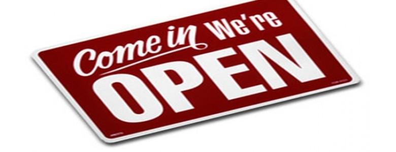 Inderdaad open....